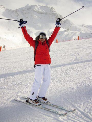 accident de ski