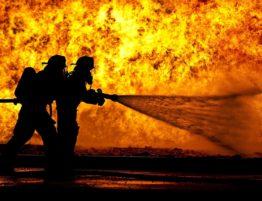 victime d'incendie