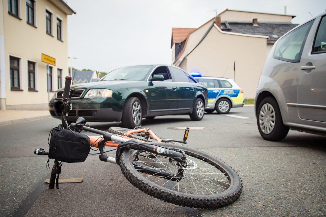accident de vélo