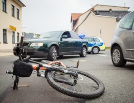 accident de vélo